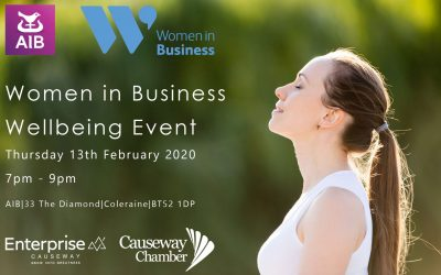 Women in Business Wellbeing Event