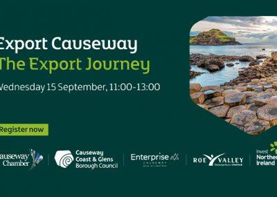 The Export Journey – Webinar 15/09/2021